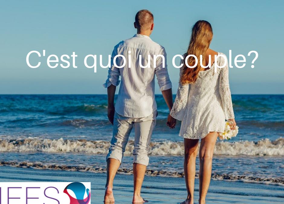 Définition du terme «couple». C'est quoi un «couple»?